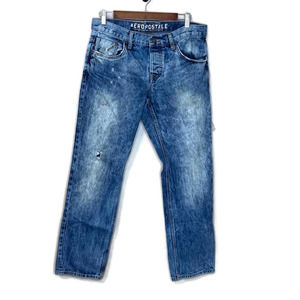 Aeropostale men's blue jeans denim 32 x 30 slim